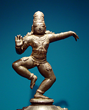 Bakakrishna, South India, bronze