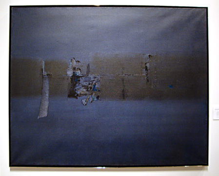"""Blue Abstract"" by Gaitonde"