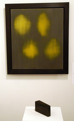 """4 Yellow Hearts"" by Bleckner"