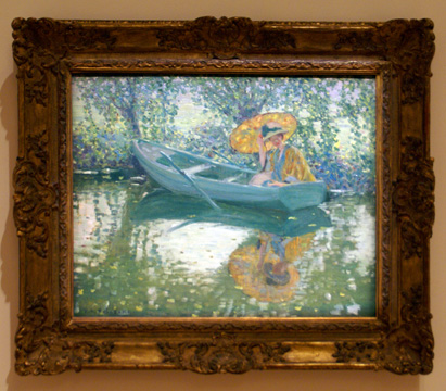"""On the River"" by Frieseke"