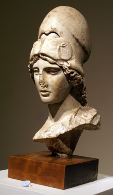 Roman bust of the Athena Giustiniani