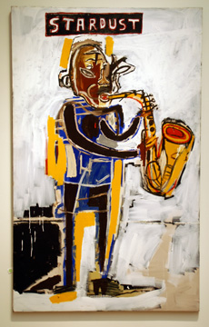 """Stardust"" by Basquiat"