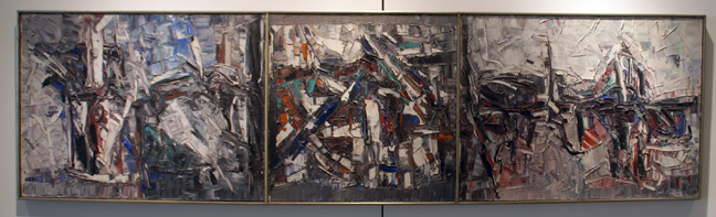 """Trytique"" by by Riopelle"