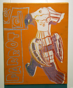 Parrot by Warhol