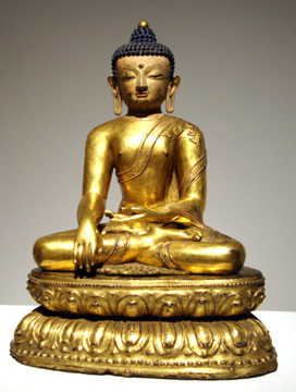 14th Century Buddha from Tibet