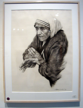 Mother Teresa by Bhattacharjee