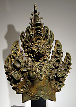 """Garuda Finial from Khmer"