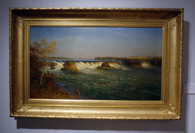 Waterfalls by Bierstadt