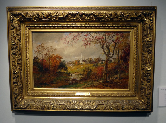 Landscape by Cropsey