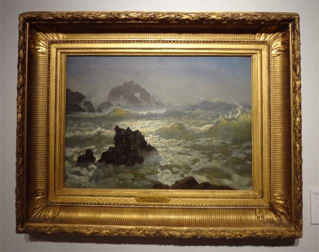Seal Rock, California by Bierstadt
