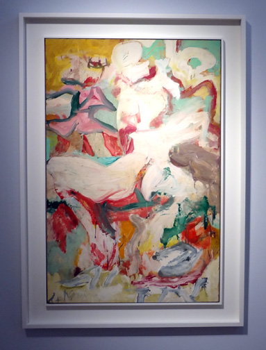"""Woman and Child"" by de Kooning"