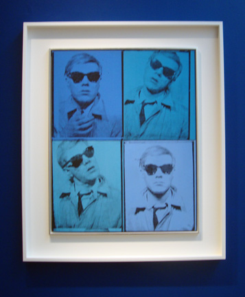 Four Andys by Warhol