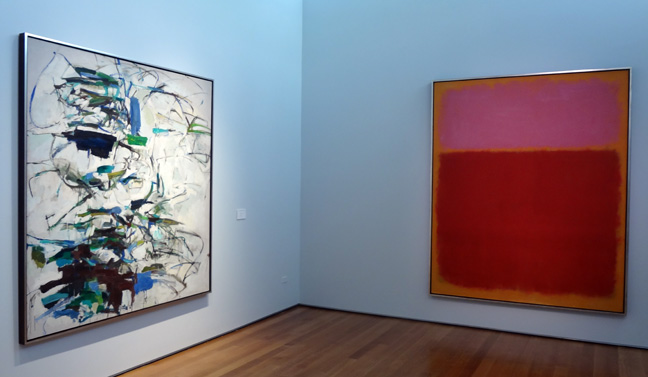 Mitchell and Rothko