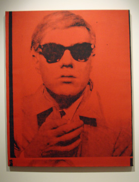 """Self-portrait""by Warhol"