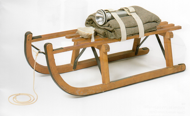Beuys sled