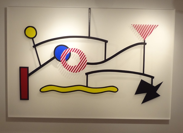 Sculpture by Lichtenstein