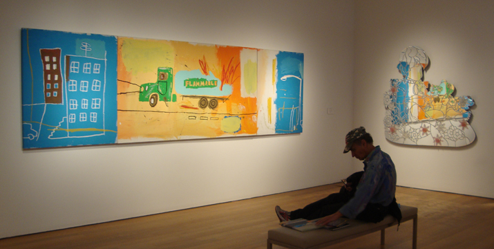 """Gas truck by Basquiat"