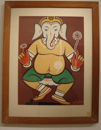 """Untitled (Dancing Ganesha)"" by Roy"