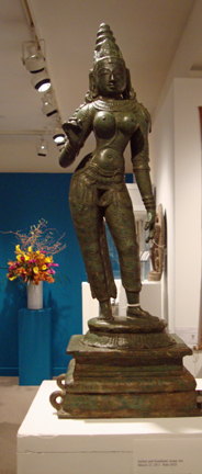 Bronze figure of Parvati
