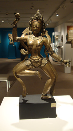 Bronze figure of a Dakini