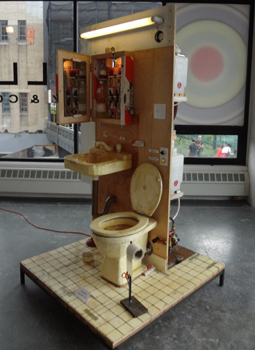 """Lil T's Toilet Team"" by Tom Sachs"