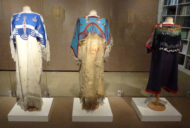 Three Indian dresses