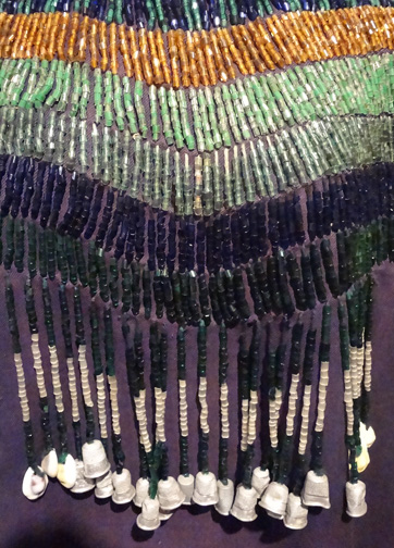 Plateau beaded cloth dress