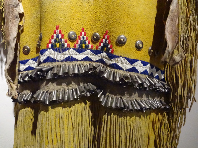 Detail of Apache puberty dress