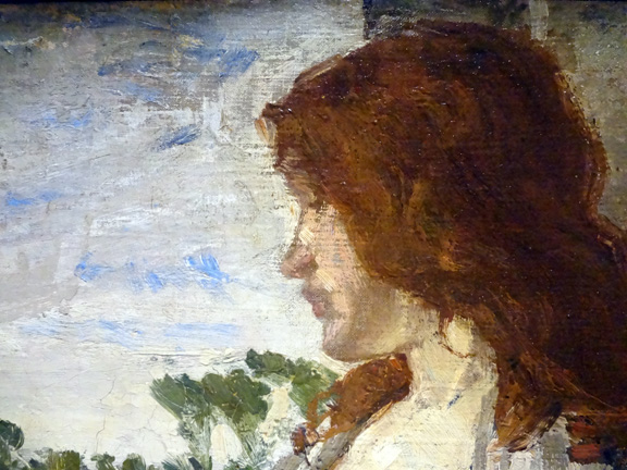 Detail of Whistler girl
