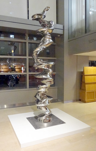 """Divide"" by Tony Cragg"