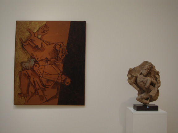 """Untitled (Minotaur)"" by Husain"