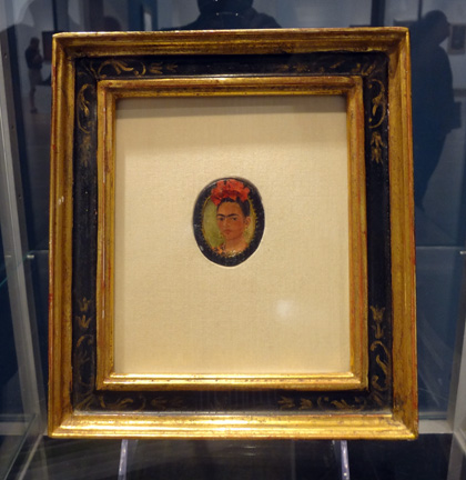 Self-portrait by Kahlo