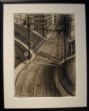 """Intersection"" by Thiebaud"