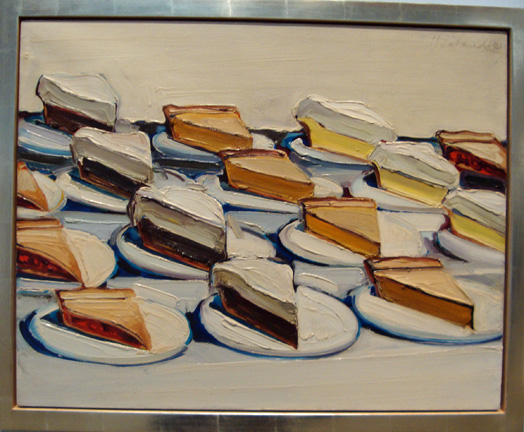 """Pies"" by Thiebaud"