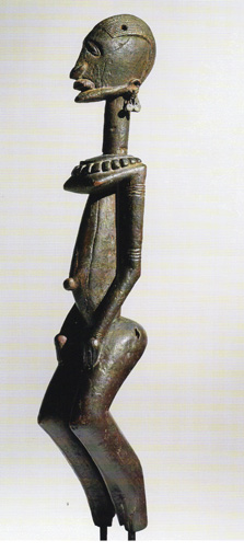 Dogon N'Duleri male ancestor figure
