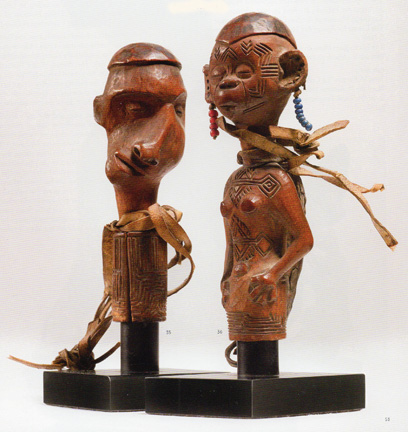 Two Makonde stoppers