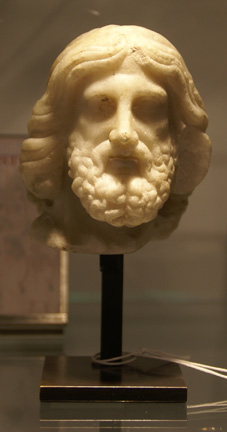 Roman small head of a man