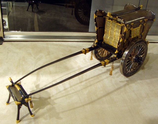 Model of court carriage