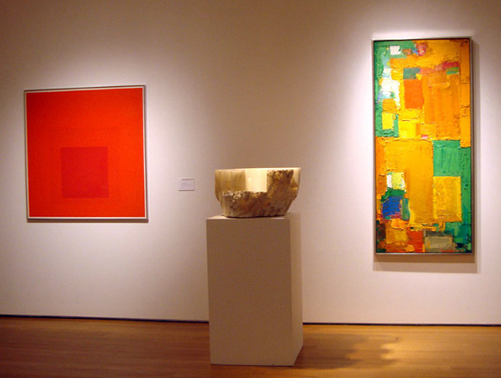 Albers, Chillida and Hoffman