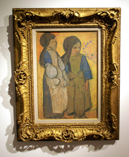 Two women by Gauguin