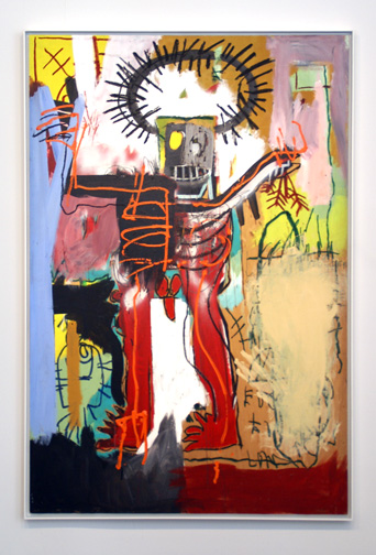 Untitled work by Basquiat