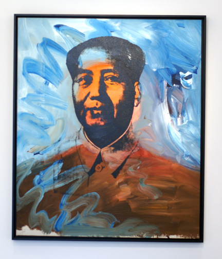 Mao by Warhol