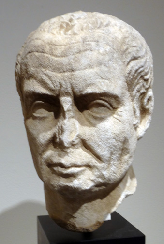Roman head of a man