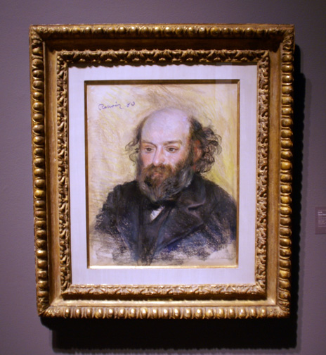 Renoir portrait of Cézanne