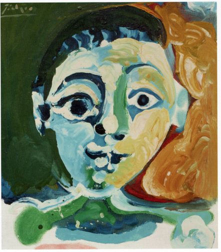 Head of a Young Boy by Picasso