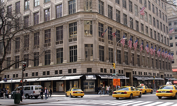 Bergdorf s was always more expensive and has always had far more  spectacular shop windows 8844acf6b385