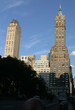 Pierre and Sherry Netherland Hotels seen from Central Park South