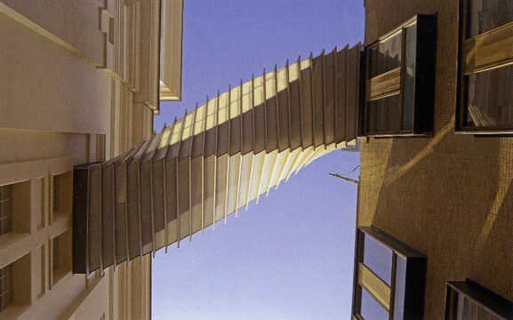 """Bridge of Aspiration"" by Wilkinson Eyre"