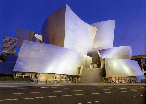 Walt Disney Concert Hall in Los Angeles by Gehry