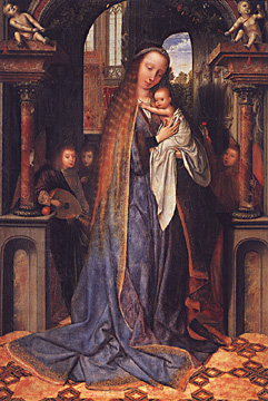 Madonna and Child by Massys